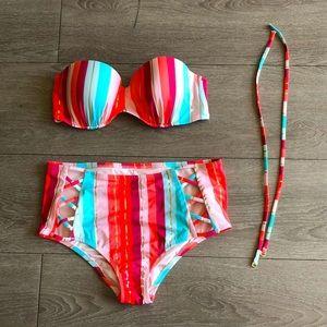 Colourful Bikini Set